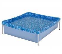 Piscina plástica capacidade 400 litros - MOR