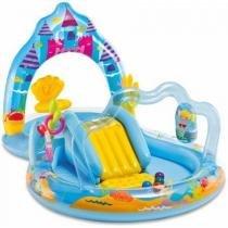 Piscina Playground Reino da Sereia Encantada 151 Litros Intex -
