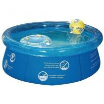 Piscina redonda mor splash fun 1000l - 1048 - azul -