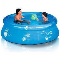 Piscina Redonda Mor Splash Fun, Inflável, 2400 litros - 001053
