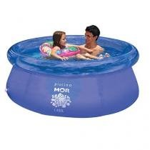 Piscina splash fun diâmetro 1,80m x 63cm 1400 litros - Mor