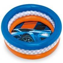 Piscina Summer Hot Wheels 68 Litros - Fun Divirta-se -