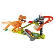 Pista Hot Wheels Ataque T-Rex - Mattel FFW82
