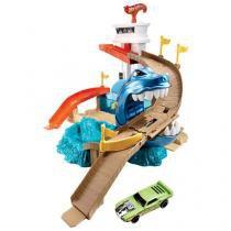 Pista Hot Wheels Color Change Ataque Tubarão - Mattel BGK04