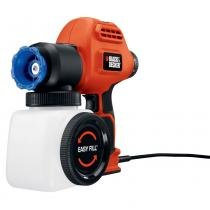 Pistola de Pintura e Pulverização de Alta Pressão BDPS200 - Black and Decker - 127v - Black and Decker
