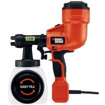 Pistola de Pintura e Pulverização HVLP BDPH200B - Black and Decker - 220v - Black and Decker