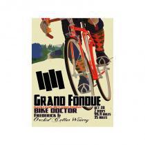 Placa bike doctor grande fondue pequena - Colorido - All classics