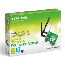 Placa de Rede Wireless PCI-E 300Mbps Banda Dupla TP-Link TL-WN881ND - TP-Link