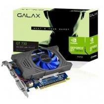 Placa De Video Galax Geforce Gt 730 2gb Ddr5 64 Bits - 73gph4hxb2tv - Galax
