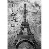 Placa Decorativa 32x21,5cm Torre Eiffel Paris LPQM-013 - Litocart - Litocart