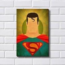 Placa Decorativa em MDF com 20x30cm - Modelo P03 - Superman - R+ Adesivos