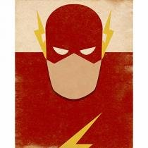 Placa Decorativa Litoarte DHPM-200 24x19cm The Flash -