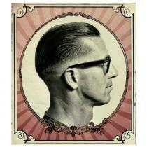 Placa Decorativa Para Barbearias Hair Style Estilo Vintage 1 - Versare anos  dourados 8aff50c1cc