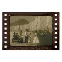 Placa Decorativo em MDF 15x10 Praia de Copacabana DHPM5-126 - Litoarte - Litoarte