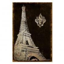 Placa Decorativo em MDF 22x33 Torre Eiffel DHPM5-128 - Litoarte - Litoarte