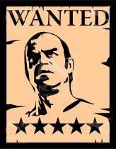 Placa Geek: GTA V Wanted Trevor - LEGIAO NERD