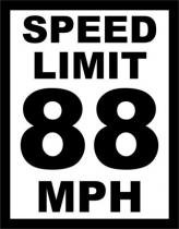 Placa Geek: Speed Limit - LEGIAO NERD