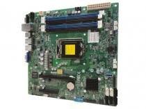Placa mae servidor intel centrium x10sll-hf matx lga1150 xeon e3-1200 v3 v4 ddr3 ecc chipset c222 - Centrium