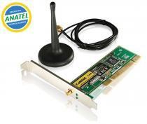 Placa PCI WIFI 54 Mbps COMTAC 9009 - COMTAC