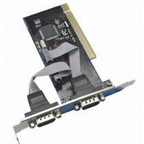 Placa Serial 2 Portas PCI Db9 Rs232 - Feasso -