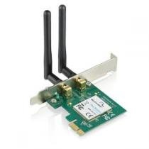 Placa Wireless Multilaser Pci-E 300 Mbps com WPS - RE049 - Neutro - Multilaser