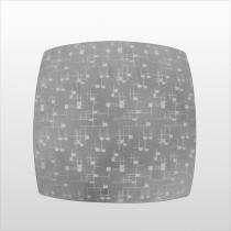 Plafon Quadrado Para 2 Lampadas Goiania Pl1011/2 Kin - EMAK