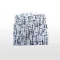 Plafon Quadrado Silk Textura Médio Ref 1314 Attena - ATTENA ILUMINACAO