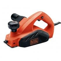 Plaina 650 watts corte por passada de até 2,0 mm - 7698 (220V) - Black + decker