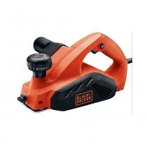 "Plaina elétrica 650 watts 3 1/4"" blackdecker 110v - Black e decker"