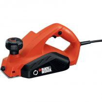 Plaina elétrica 82 mm black decker 110 v -