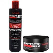 Plancton Professional - Kit (Shampoo Whey Protein 250ml + Másc Whey Protein 250g) - Plancton