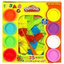 Play Doh Conjunto Letras e Números - Hasbro - Play-doh