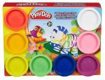 Play Doh Massa de Modelar 8 Potes Sortidos - Hasbro - Play-Doh