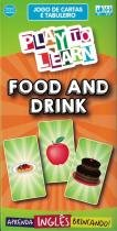 Play to learn - jogo de cartas - food and drink -
