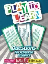 Play to learn - jogo de cartas - questions for advanced students -
