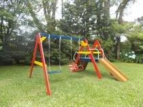 Playground de Madeira - Meu Primeiro Play - Mundo da Crianca -