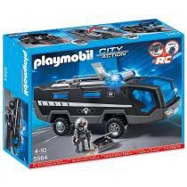 Playmobil City Action - Veículo de Comando Swat - 5564 - Sunny