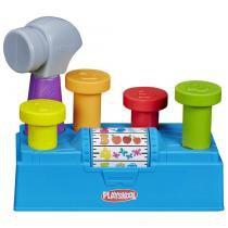 Playskool-martelar e aprender bancada de atividades hasbro a7405 - Playskool
