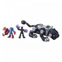 Playskool Marvel Heroes Adventures Pantera Negra - Hasbro -