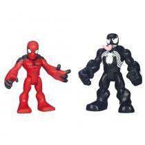 Playskool Marvel Super Hero Scarlet Homem Aranha e Venom - Hasbro - Playskool