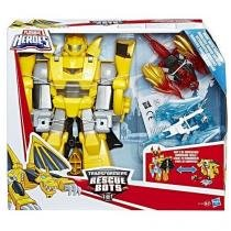 Playskool Transformers Rescue BOTS Bumblebee Cavaleiro Vigilante Hasbro C1122 12223 -