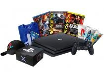 Playstation 4 Pro 1TB 1 Controle Sony  - Headset + Box Oficial PlayStation Collectors