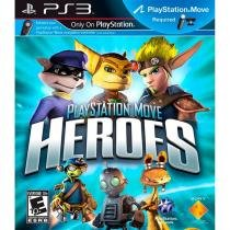 Playstation Move Heroes Game Em Inglês Para Ps3 Sony -