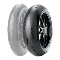Pneu traseiro pirelli 190-55-17 diablo super corsa v2 - honda cbr 1000 suzuki srad 1000 / yamaha yzf r1 - Pirelli