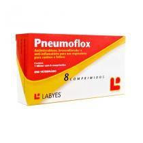 Pneumoflox 8 comp Labyes Cães e Gatos -