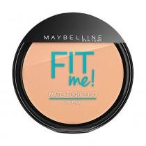 Pó Compacto Maybelline Fit Me Claro Real Cor 110 -