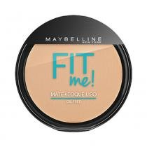 Pó Compacto Maybelline Fit Me! Oil Free 110 Claro Real - MAYBELLINE