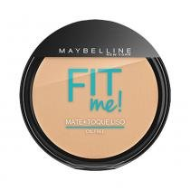 Pó compacto maybelline fit me! oil free 130 claro diferente - Maybelline