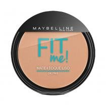 Pó compacto maybelline fit me! oil free 150 claro especial -
