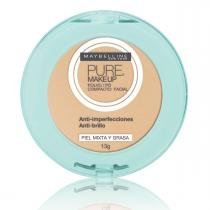 Pó Compacto Maybelline Pure Makeup Arena Natural 13g - MAYBELLINE